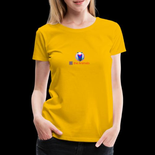 Safe the Animals Kollektion - Women's Premium T-Shirt