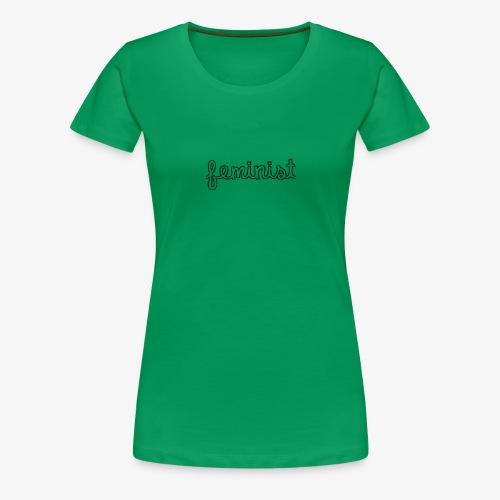 Feminist - T-shirt Premium Femme