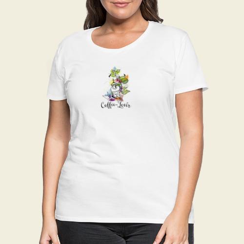 Coffee-Lover - Frauen Premium T-Shirt