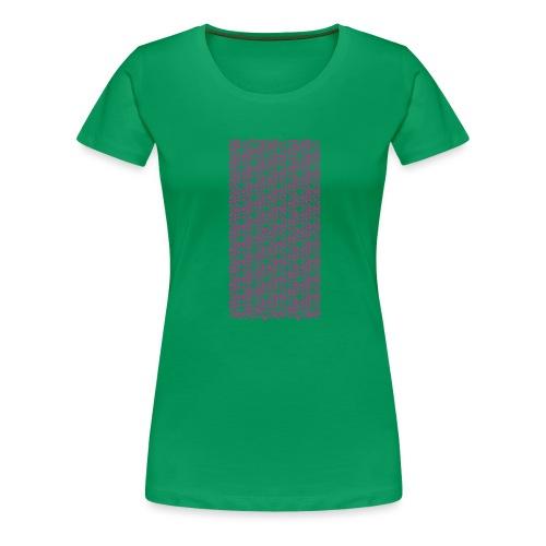 Fluo Sghiribizzy - Maglietta Premium da donna