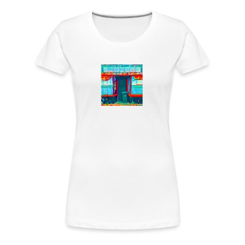 Roll On Blank Tapes - Women's Premium T-Shirt