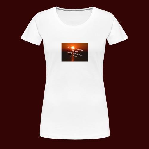quote1 - Vrouwen Premium T-shirt