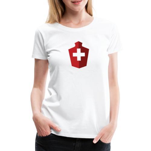 Schweizer Flagge - Schweiz - Frauen Premium T-Shirt
