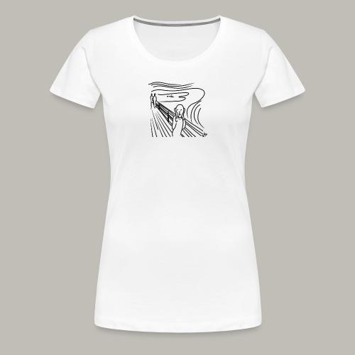 Little piece of munch - T-shirt Premium Femme