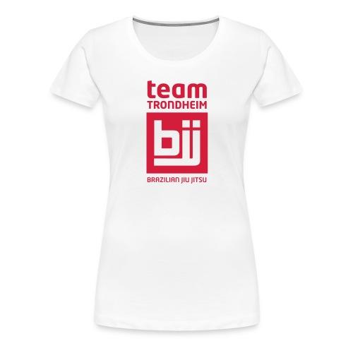 trondheim bjj logo - Premium T-skjorte for kvinner