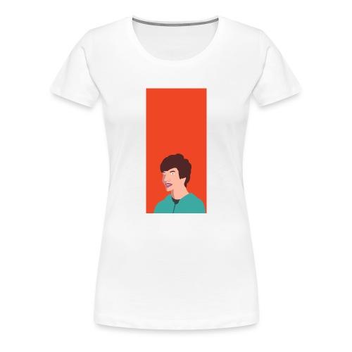 Aron Deksel v.2 5/5S - Premium T-skjorte for kvinner