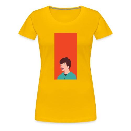 Aron Deksel v.2 6/6S Plus - Premium T-skjorte for kvinner