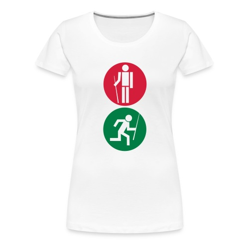Billard Ampel - Frauen Premium T-Shirt