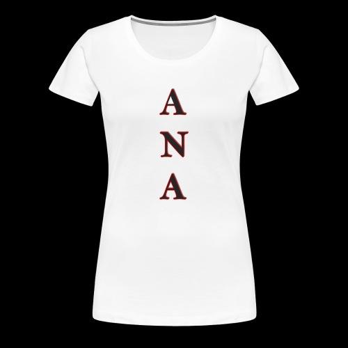 ANA - Camiseta premium mujer