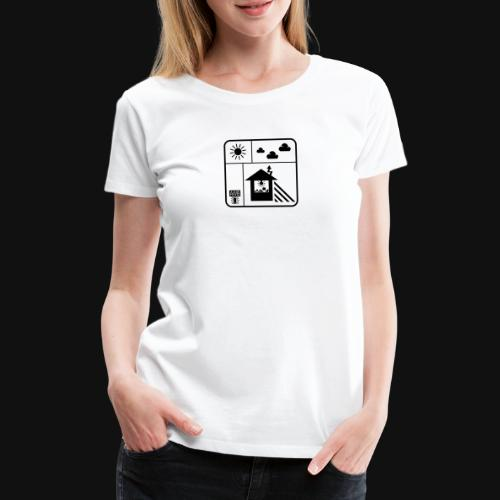 Happy White Balance - Frauen Premium T-Shirt