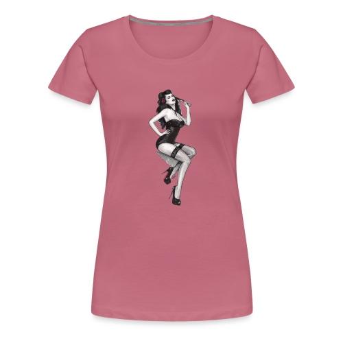 Pin Up Nadia Luongo - Maglietta Premium da donna