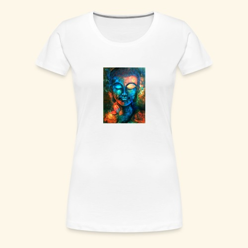Colour Buddha - Camiseta premium mujer