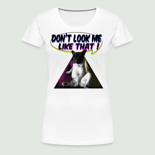 bouledogue français - T-shirt Premium Femme