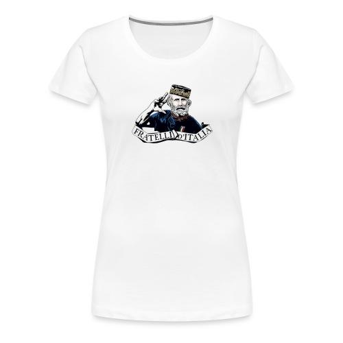 Forza Azzurri - Bebè - Maglietta Premium da donna