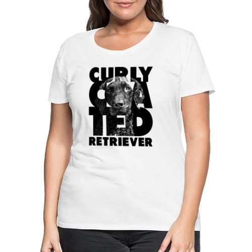 Curly Coated Retriever II - Naisten premium t-paita