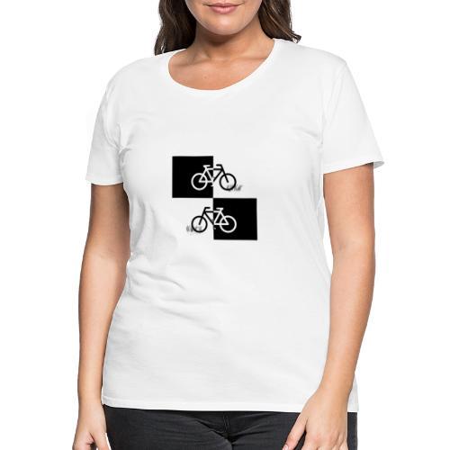Ich liebe mein Fahrrad T-Shirt für Biker - Frauen Premium T-Shirt