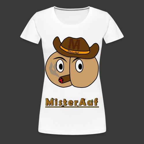 MisterAaf Logo png - Frauen Premium T-Shirt