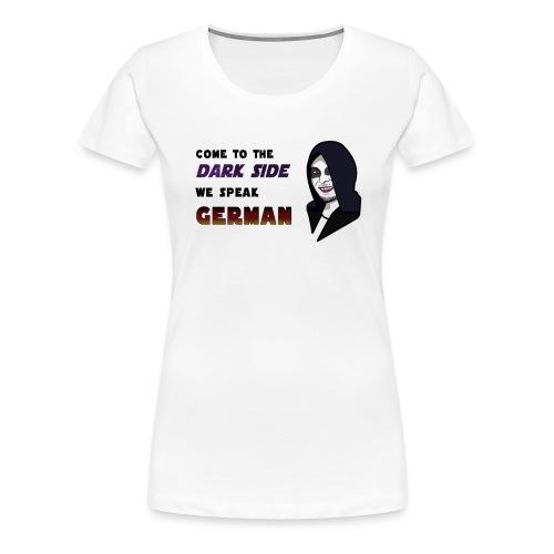 Dark Side White - Women's Premium T-Shirt