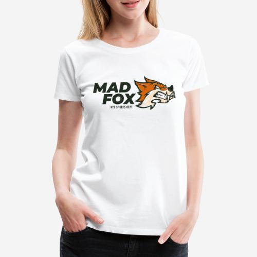 mad crazy fox - Frauen Premium T-Shirt