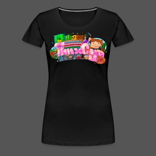 ThnxCya tshirt generic design 03 by Jonas Nacef - Women's Premium T-Shirt