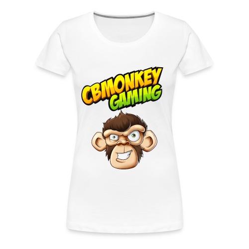 CBMonkey Logo fw png - Women's Premium T-Shirt