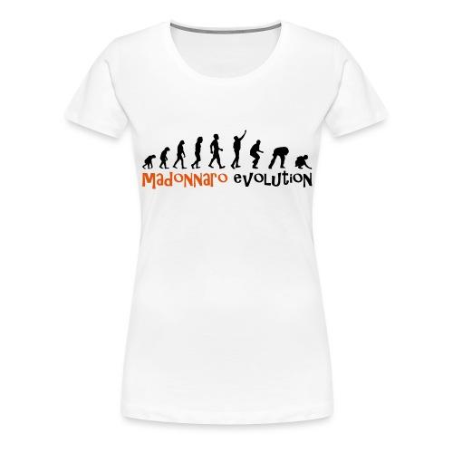 madonnaro evolution original - Women's Premium T-Shirt