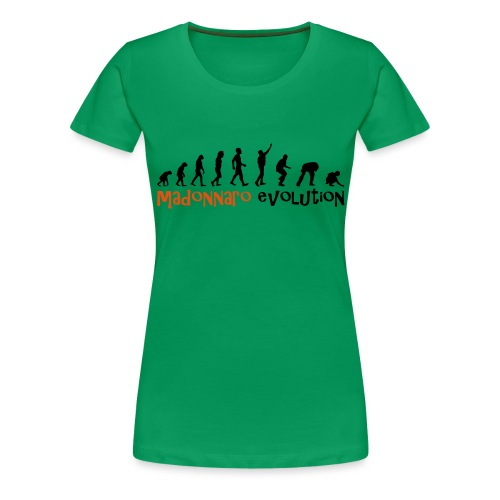 madonnaro evolution original - Women's Premium T-Shirt