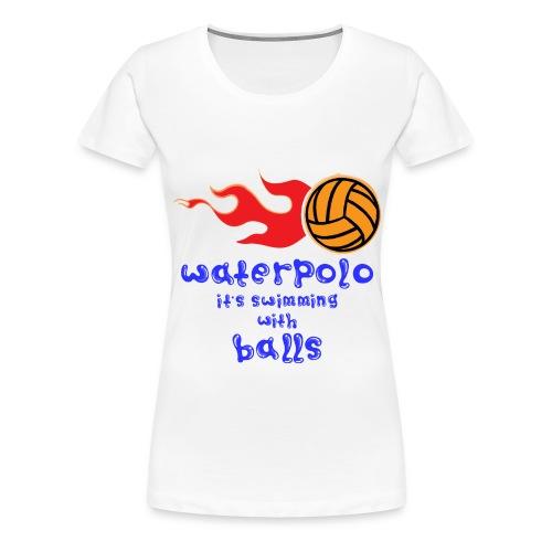 Waterpolo - Maglietta Premium da donna
