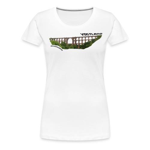 Vogtland Göltzschtalbrücke - Frauen Premium T-Shirt