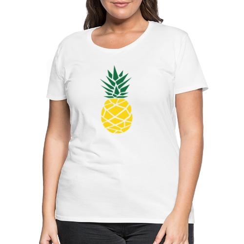 Pineapple - Vrouwen Premium T-shirt