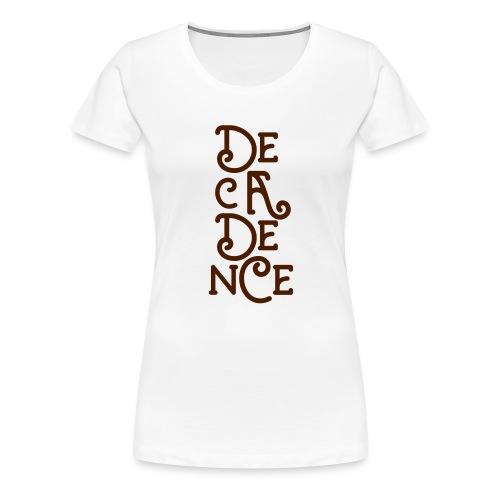 Club Decadence - Athens Greece - Women's Premium T-Shirt