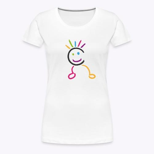 Bonhomme Gymcâline - T-shirt Premium Femme