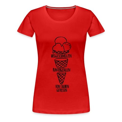 eis - Frauen Premium T-Shirt