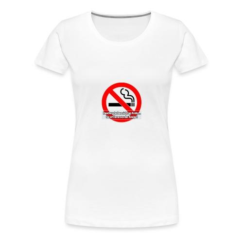 Gegen Rauchverbote - Frauen Premium T-Shirt