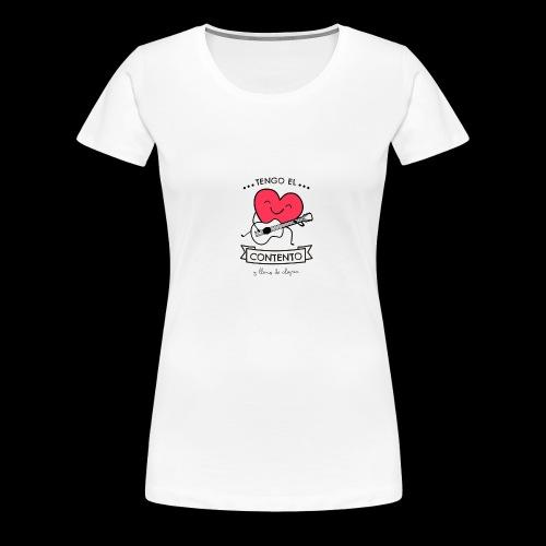 Tengo el corazón contento - Camiseta premium mujer