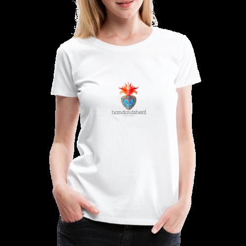 Hand aufs Herz - Frauen Premium T-Shirt