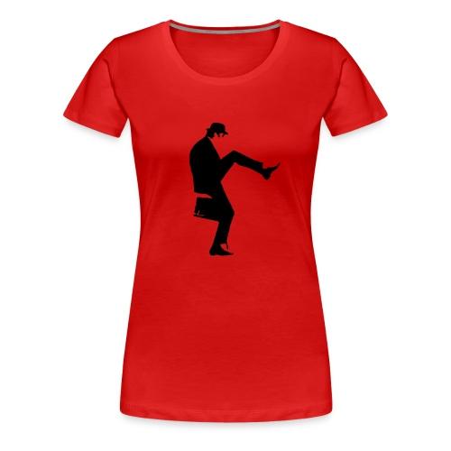 cleese walk black - Women's Premium T-Shirt