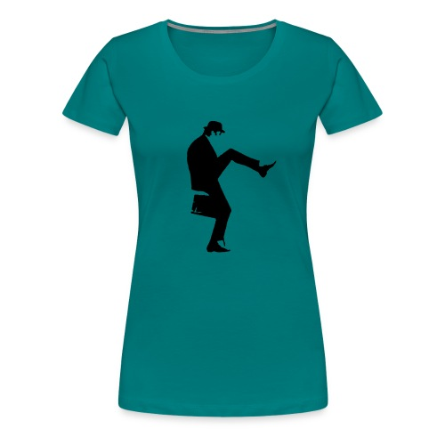 cleese walk black - Women's Premium T-Shirt