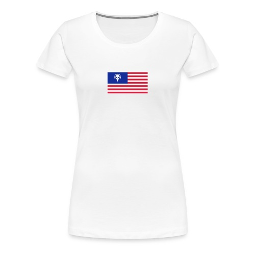 Football T-Shirt USA - Women's Premium T-Shirt