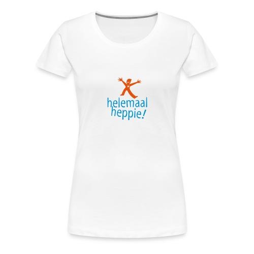 Helemaal Heppie OBT - Vrouwen Premium T-shirt