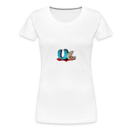 unclean comm logo transparent - T-shirt Premium Femme