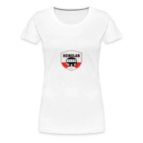 logo1 - Naisten premium t-paita