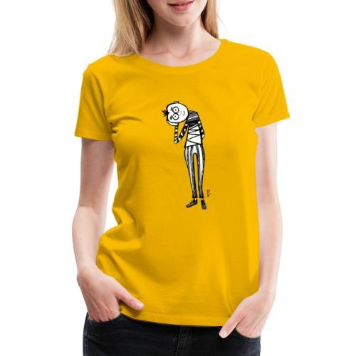 Punto di vista in bianco e nero - Maglietta Premium da donna
