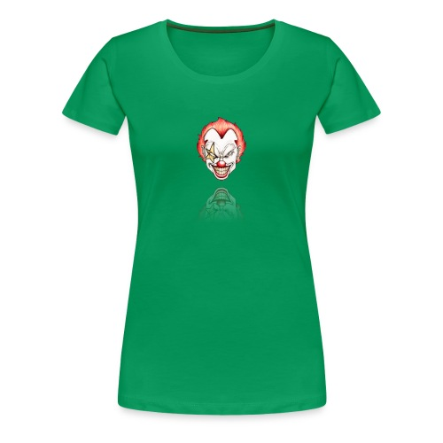 clown-png - Vrouwen Premium T-shirt