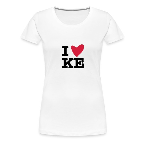 I KE - Frauen Premium T-Shirt