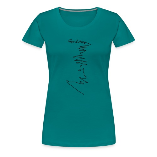 Alpe d'Huez - Frauen Premium T-Shirt