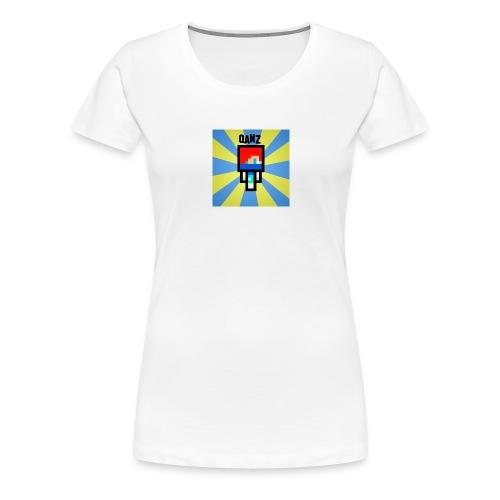 Qanz Gaming Deksel - Premium T-skjorte for kvinner