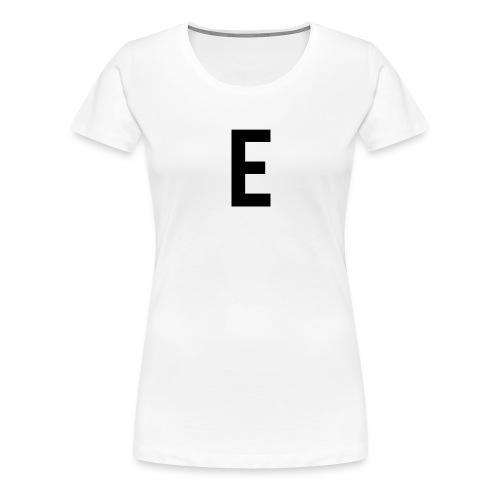 letter e 512 png - Women's Premium T-Shirt