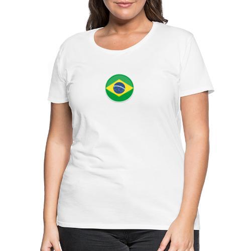 Bandeira do brasil Encontro - Women's Premium T-Shirt