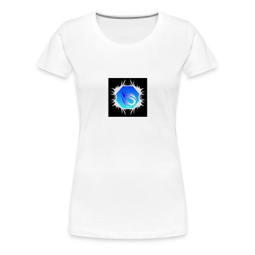 Min loga - Premium-T-shirt dam